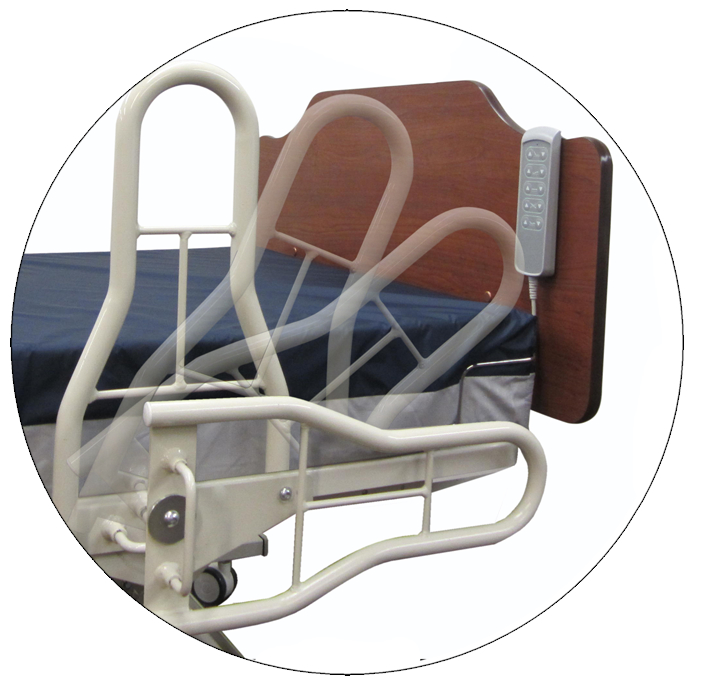 NOA Medical | Nursing Home Bed Restraint Free Assist Bar