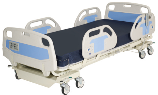 NOA Medical Hospital Bed Silver NS