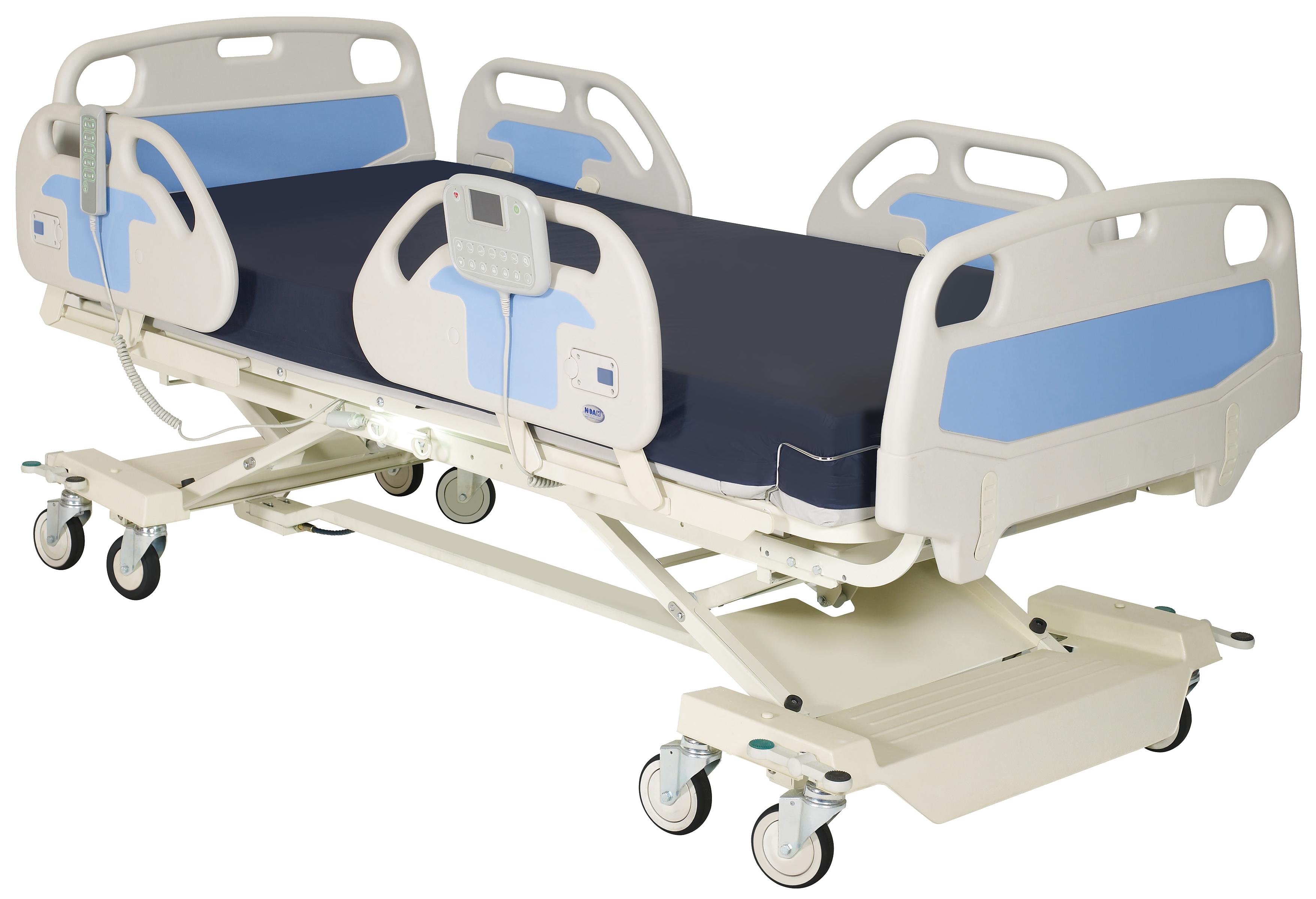 new arrival f1f47 5a70f NOA Medical Hospital Bed Silver NS