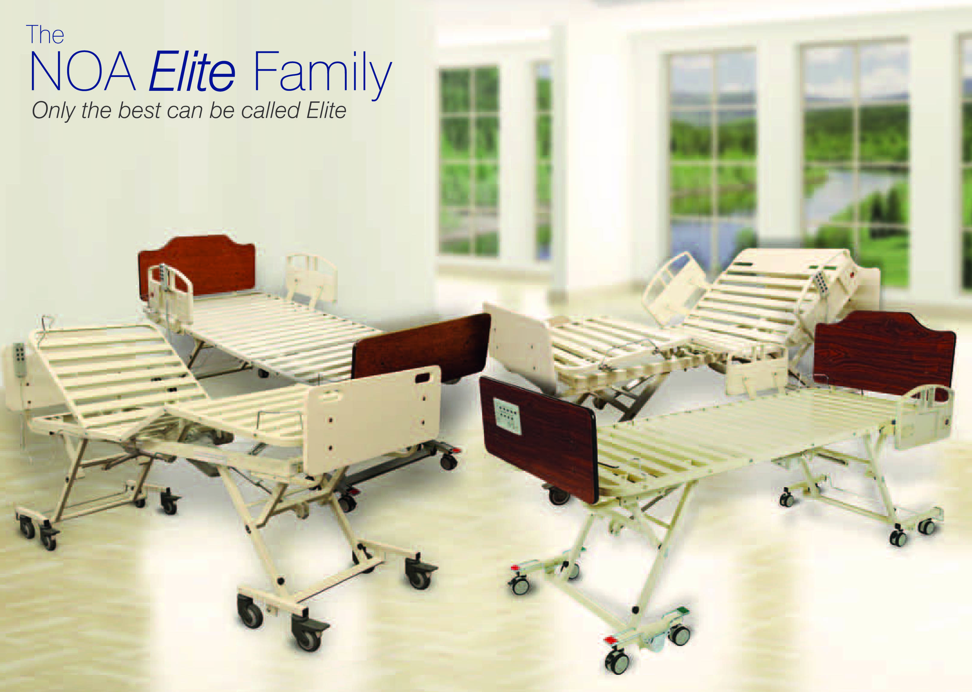 NOA Medical Nursing Home Bed Manufacturer, Long Term Care Beds